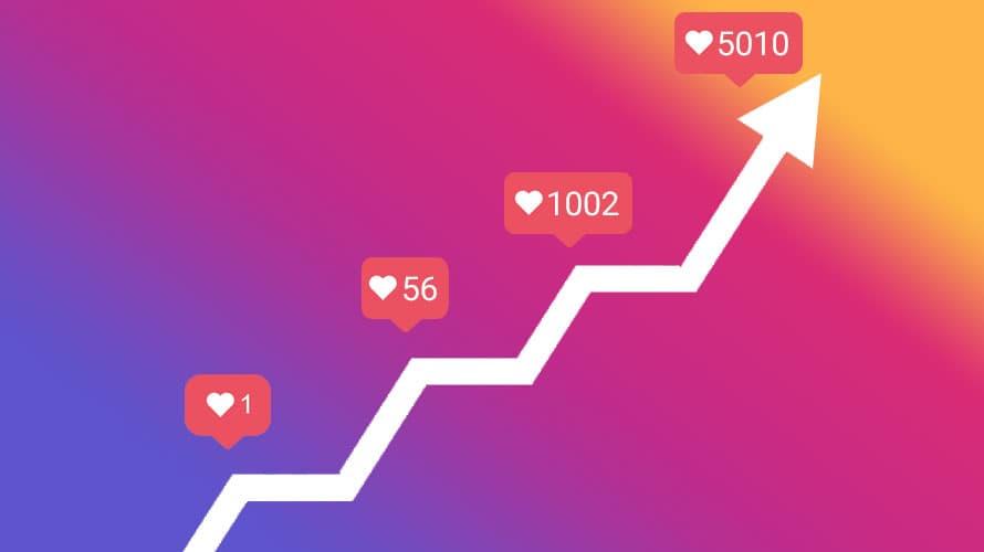 instagram vekst